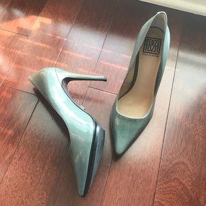 Pour La Victoire Patent Leather Stilettos 8.5 M